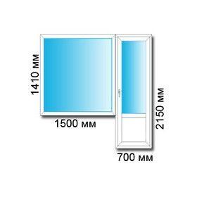 Балконный блок в панельный дом. купить по цене 9200.00 в ком.